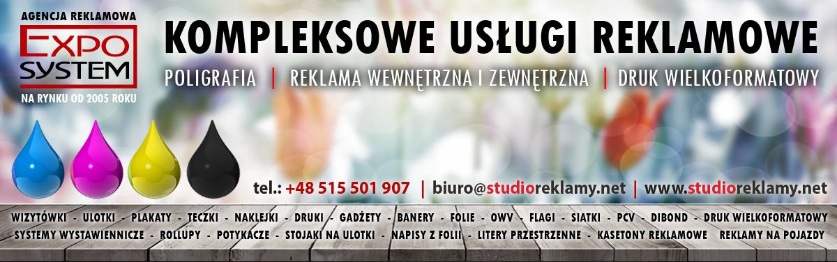 Agencja Reklamowa Exposystem Kraków Tanie Usługi Reklamowe